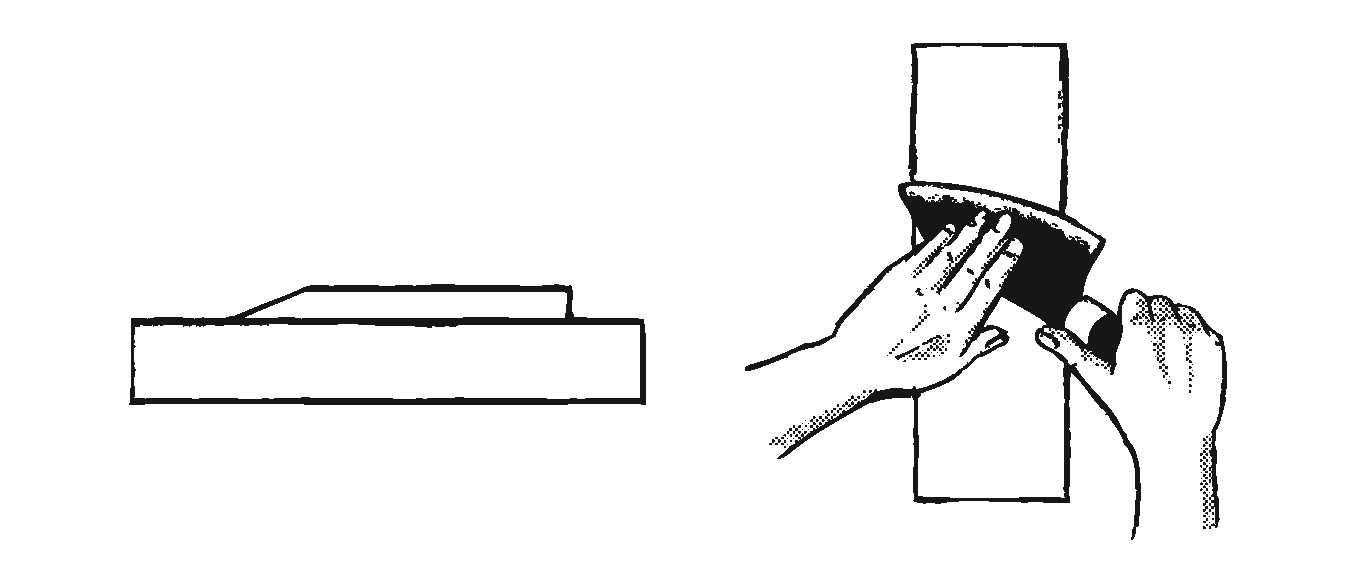 Schleifanleitung-Einseitigmesser