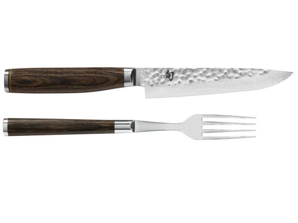 kai shun premier tdm 0907 besteckset steakmesser und -gabel