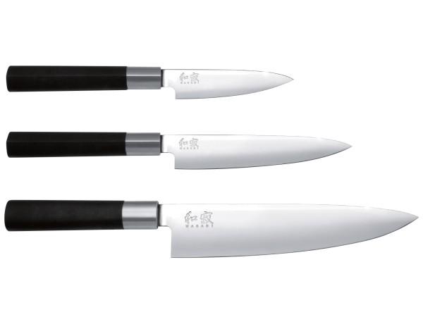 KAI Wasabi Black 67-W16 Messerset 3-teilig