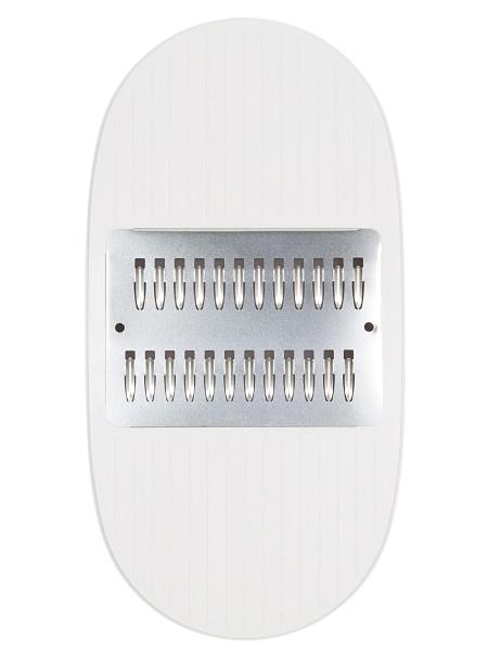 KAI Select DH-5705 Juliennereibe mit Auffangbehälter und Holzpinsel