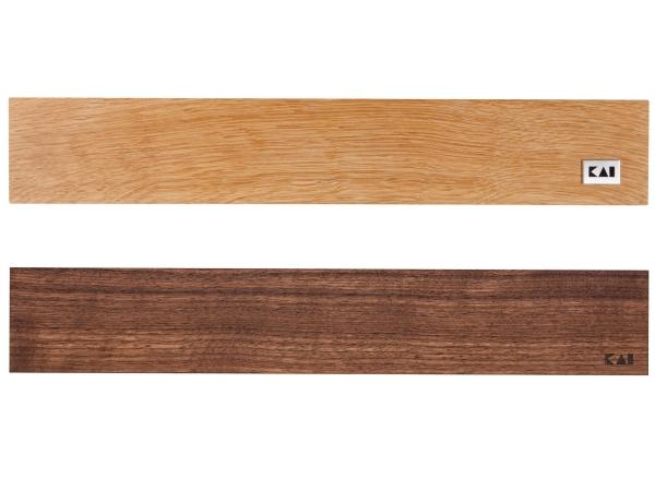KAI Holz-Magnetleiste für 4 bis 6 Messer